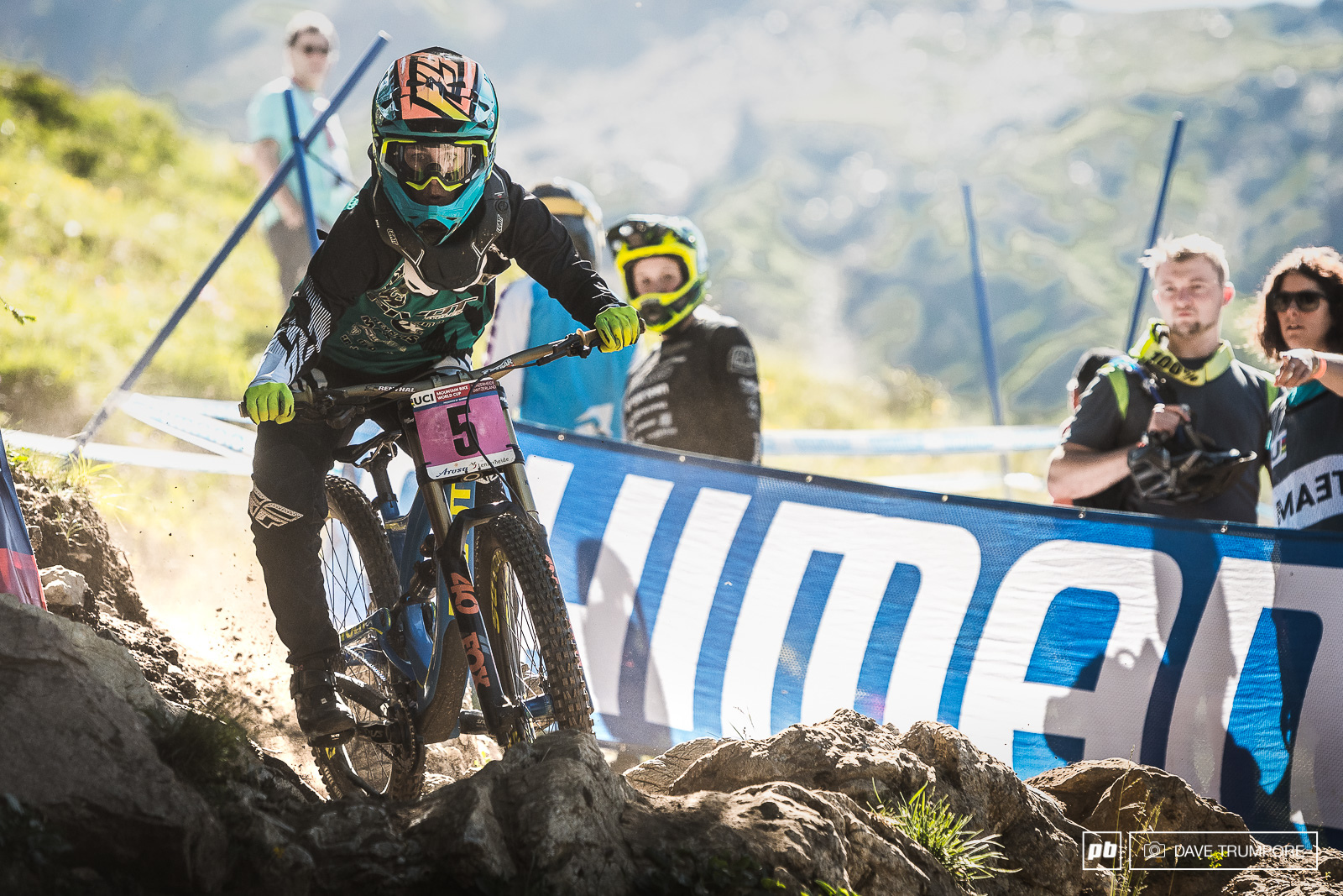 Emilie Siegenthaler was on home turf this weekend and racing in front of friends and family. All those extra cheers from the Swiss fans pushed her all the way down to take her best result of the season in 3rd.