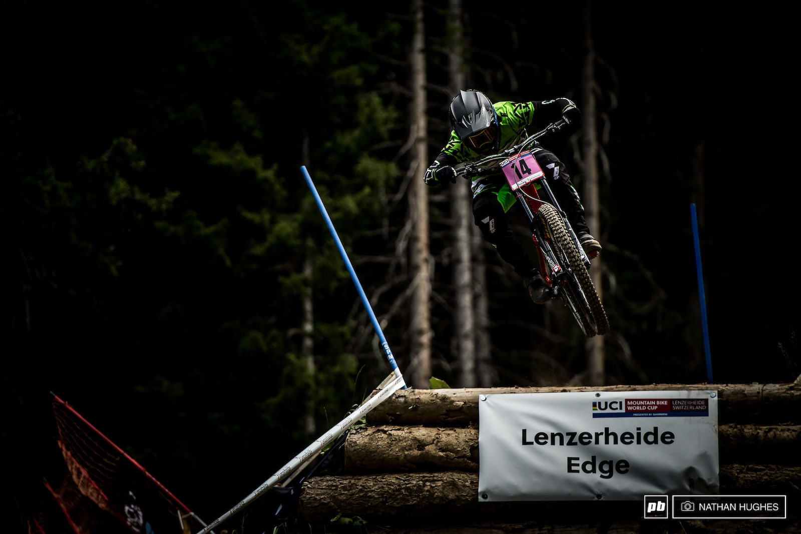 Vaea Verbeeck scroed her best ever WC result hucking into 7th.