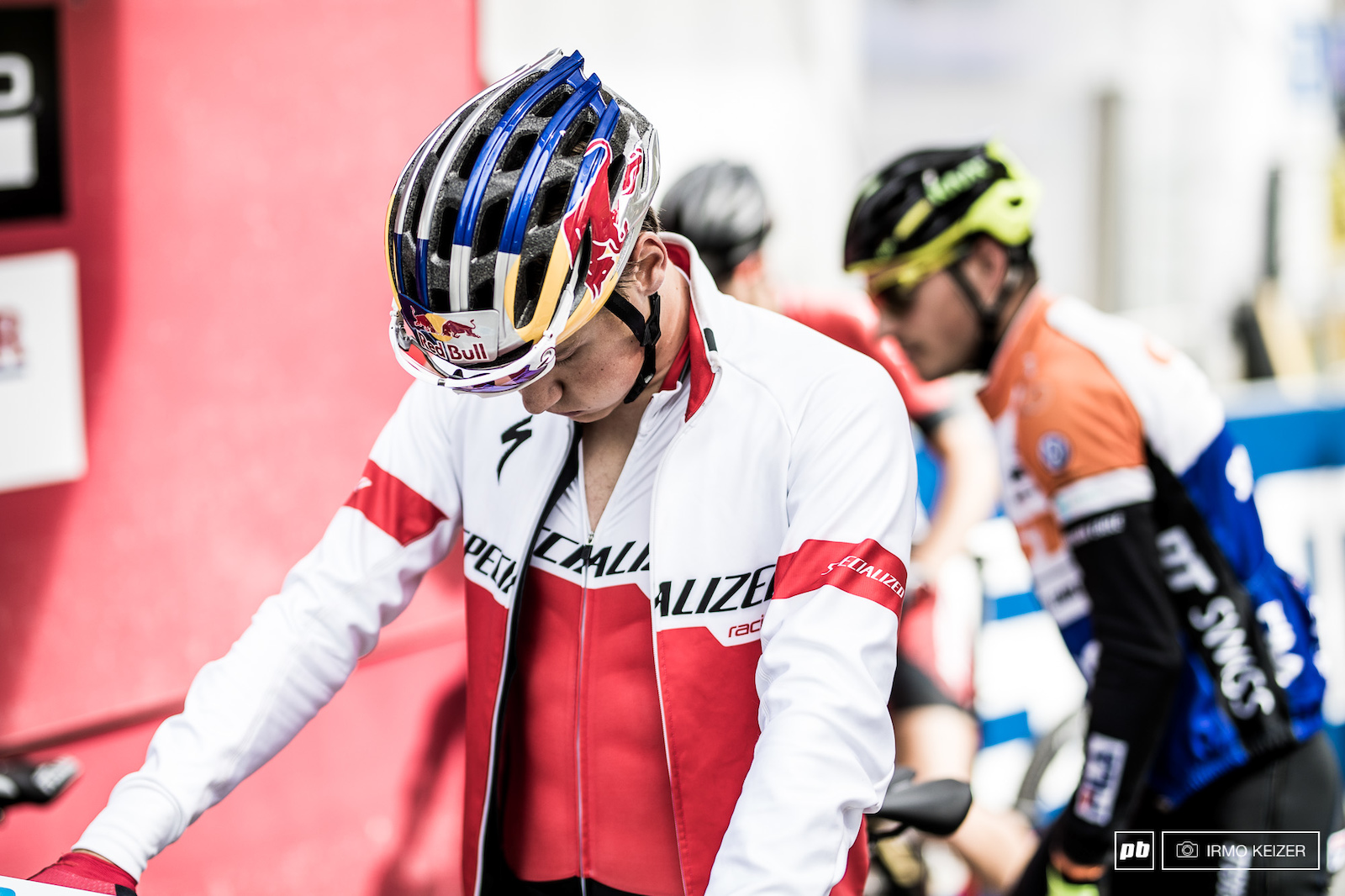 Simon Andreassen was back on it in Andorra riding to victory unchallenged. What will today bring