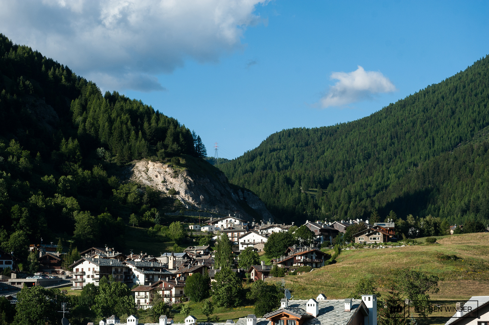 La Thuile is quite the picturesque Alpine town.