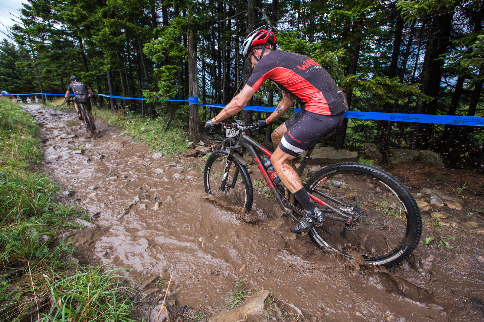 Wet and Wild Short Track XC Action - US MTB National Champs 2017