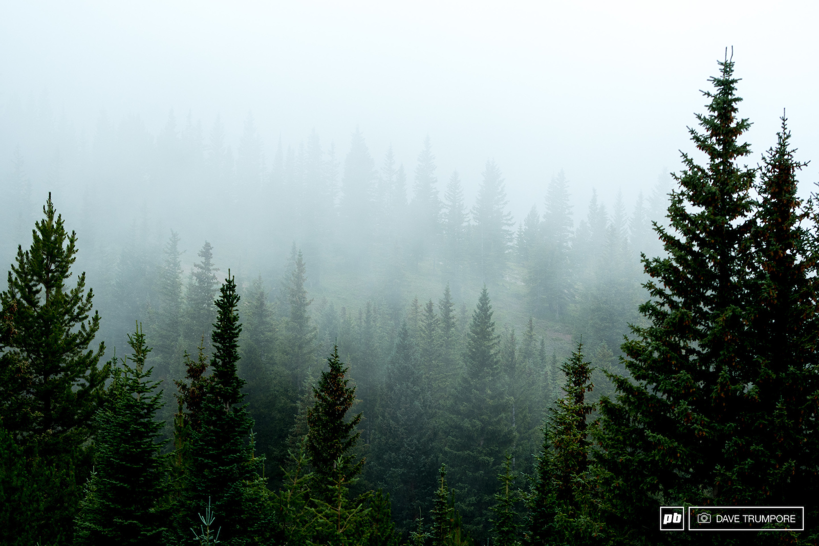 It s usually sunny in Aspen but nothing is ever for certain in the high mountains. Fog and rain can appear in the blink of an eye when above 9k feet.