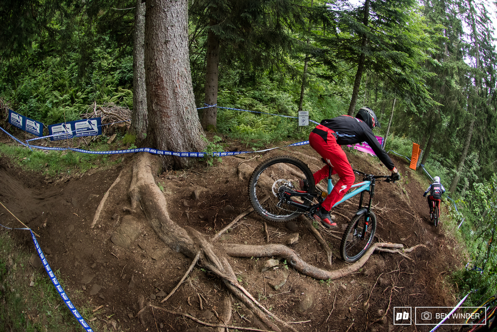 Seeding at Les Carroz - French Downhill Championships 2017