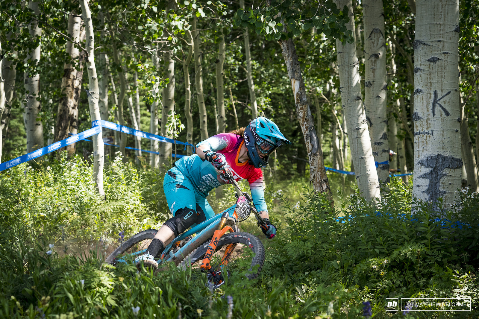 American Anne Galyean is looking for a strong result in her first EWS this season with the Yeti National team.