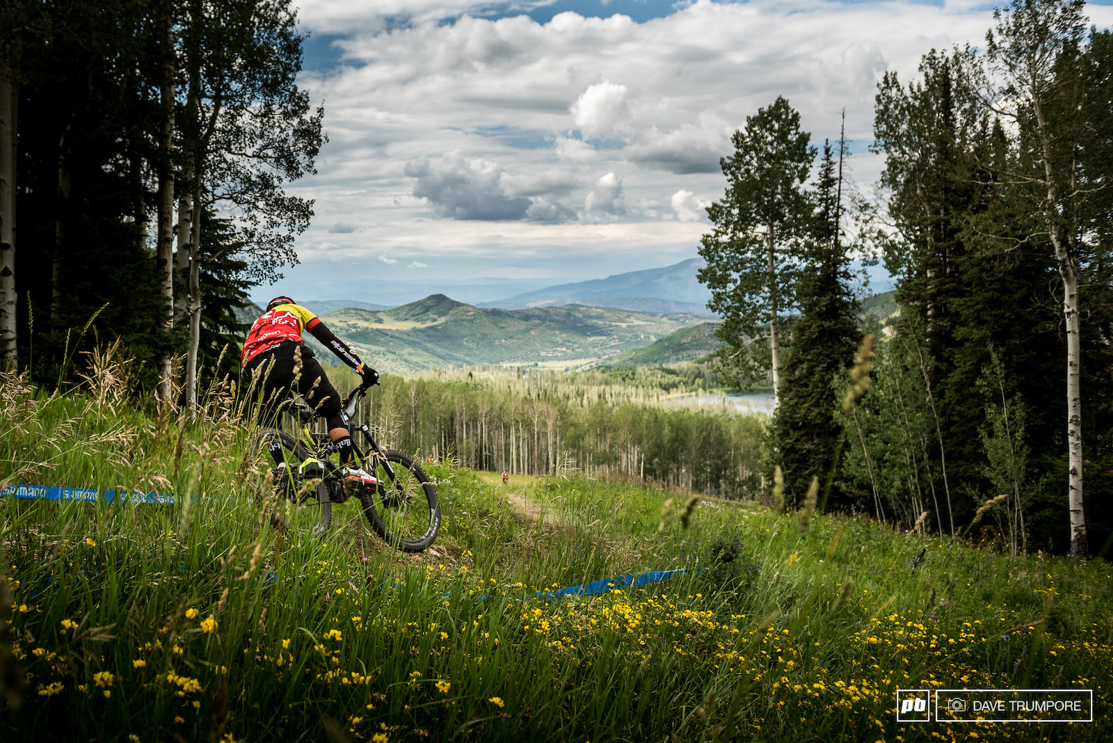 Former XC racer turned World Cup downhiller Kenta Gallagher is trying his hand at the EWS for the first time.