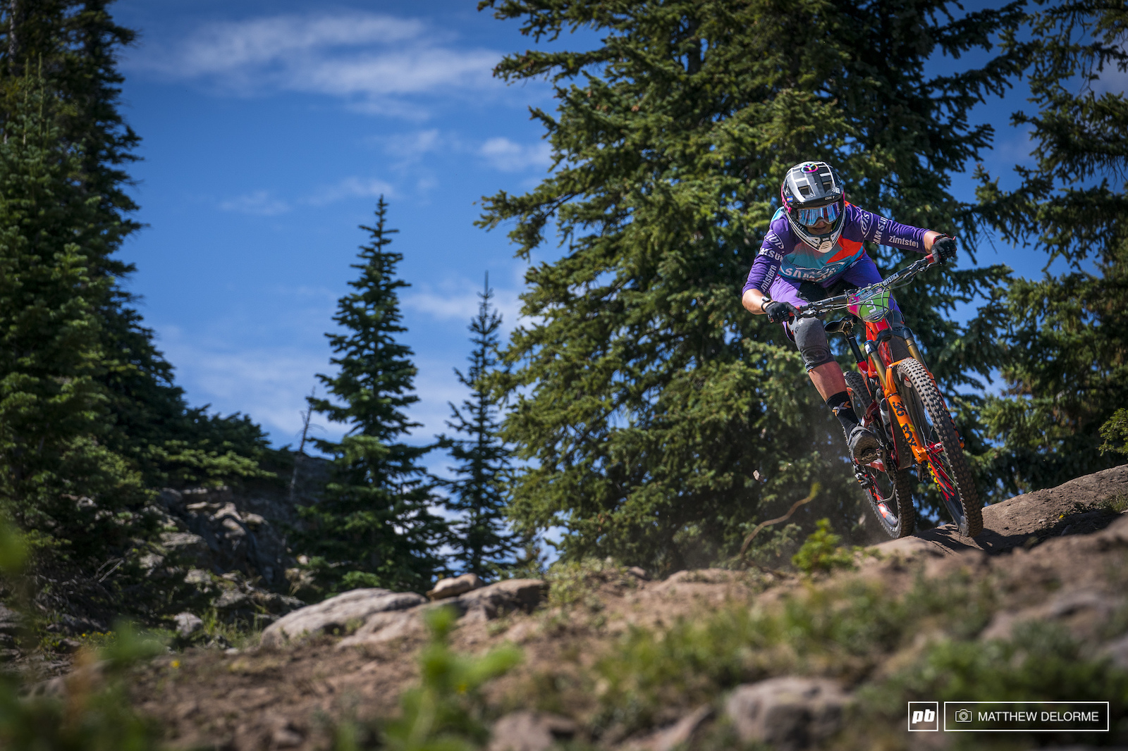 Anita Gerhig took fourth this weekend edged out of a podium by Casey Brown.