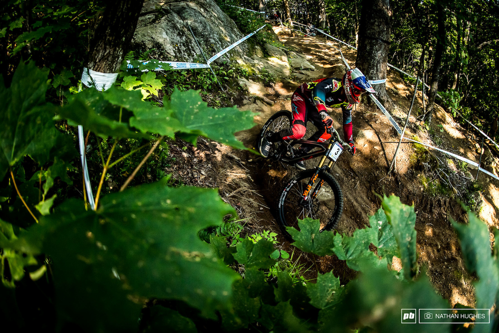 Aaron Gwin gave absolutely nothing away cruising to 48th in the TT but did take more laps than usual..