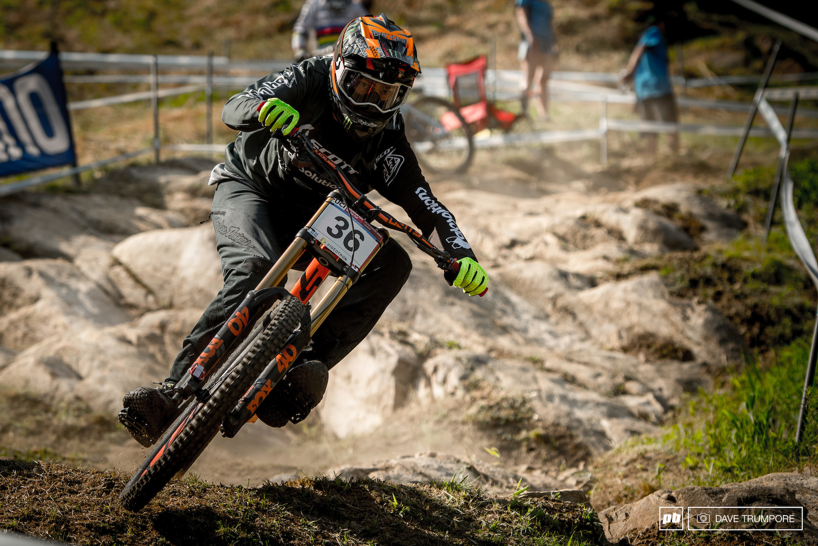 Brendan Fairclough smashed all the rocks in MSA to grab a top 10 time in training.