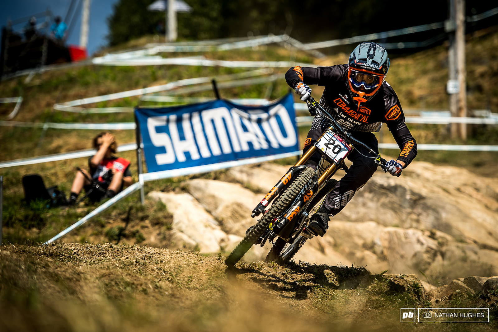 Amaury Pierron is always on pace and making team France look good. Another top 20 for the Lac Blanc pinner.