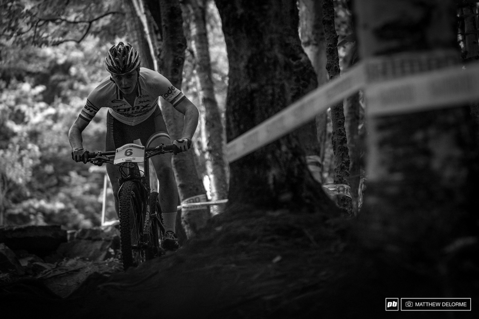 Annie Last looking aggressive as ever after her win in Lenzerheide. She s on the short list here in MSA especially if the rain continues.