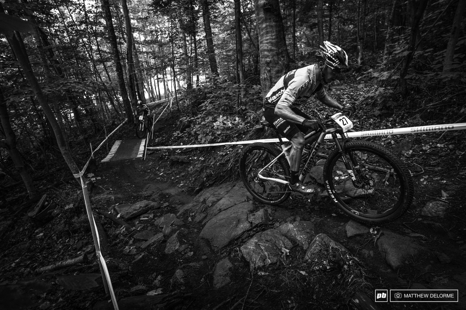 Marco Fontana coming to grip with that slick MSA rock.