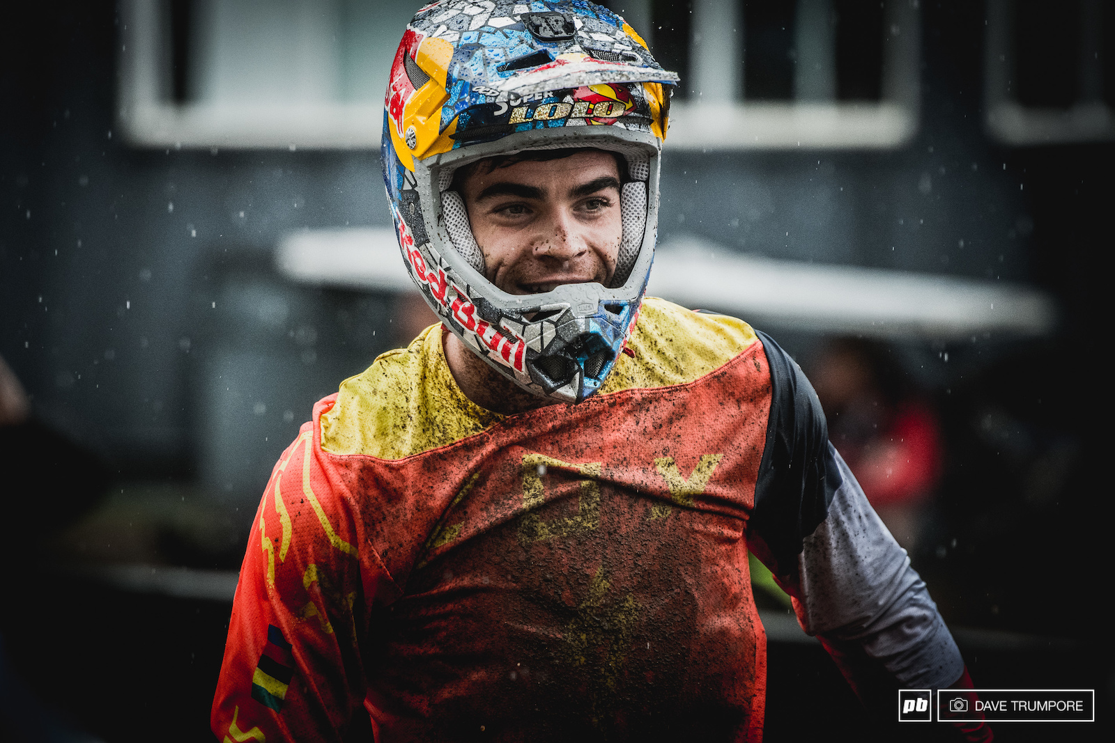 What a ride for Loic Bruni to take 4th in the worst of conditions.