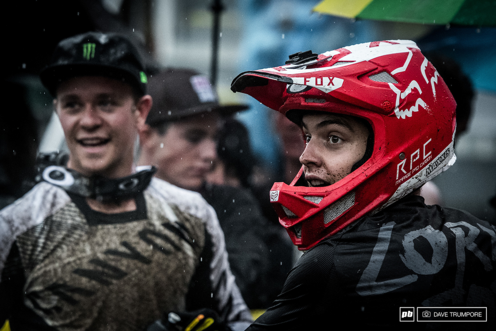 Loris Vergier always stoked no matter what happens out on the track.