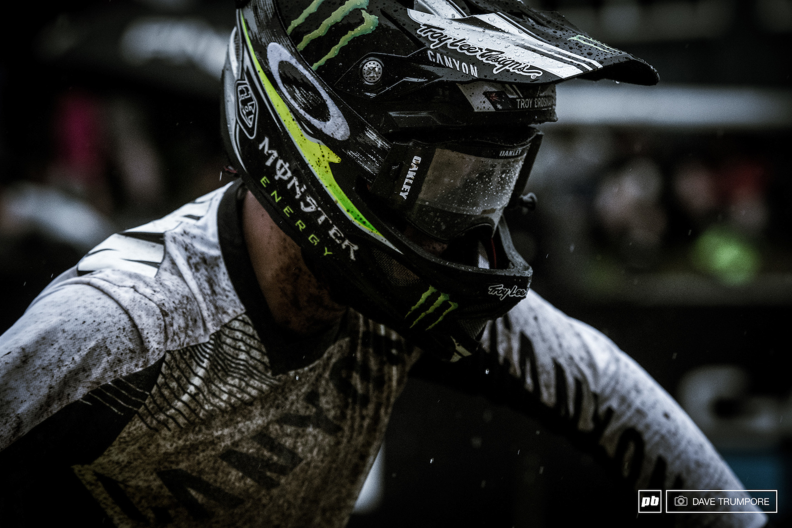 Troy Brosnan had an incredible rider in the mud to finish 6th and score valuable points for the overall. He may have dropped a place to Gwin but is still very much in contention for the title.