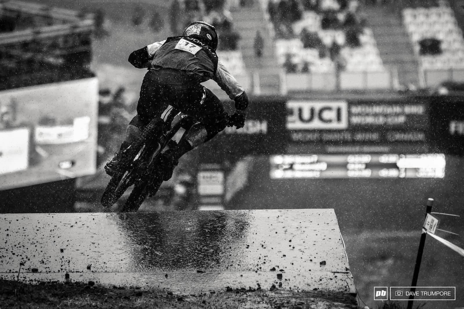 Brook Macdonald came down in some of the hardest rain of the day eventually finishing in just inside the top 50.