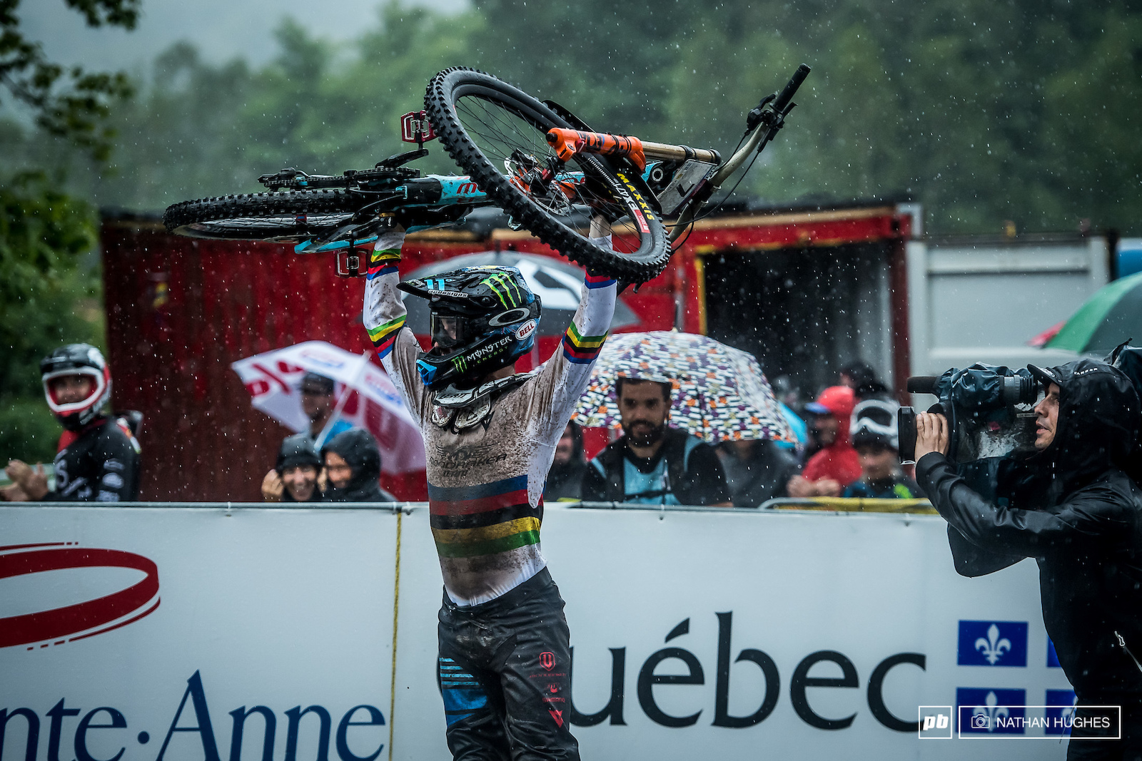 Second place at the time felt like a victory for Hart in a legendary run remeniscent of Sam Hill s 2007 Champery classic.