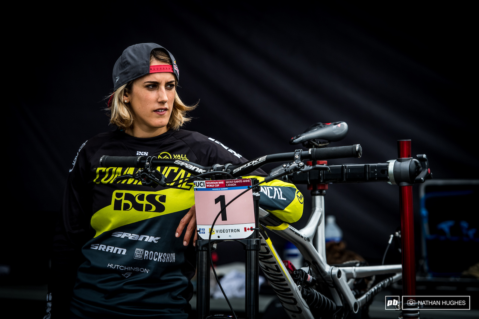 It s that time of year when things get awful serious and all eyes are fixed on the overall. Series leader Myriam Nicole with one of the biggest days of her career ahead of her.