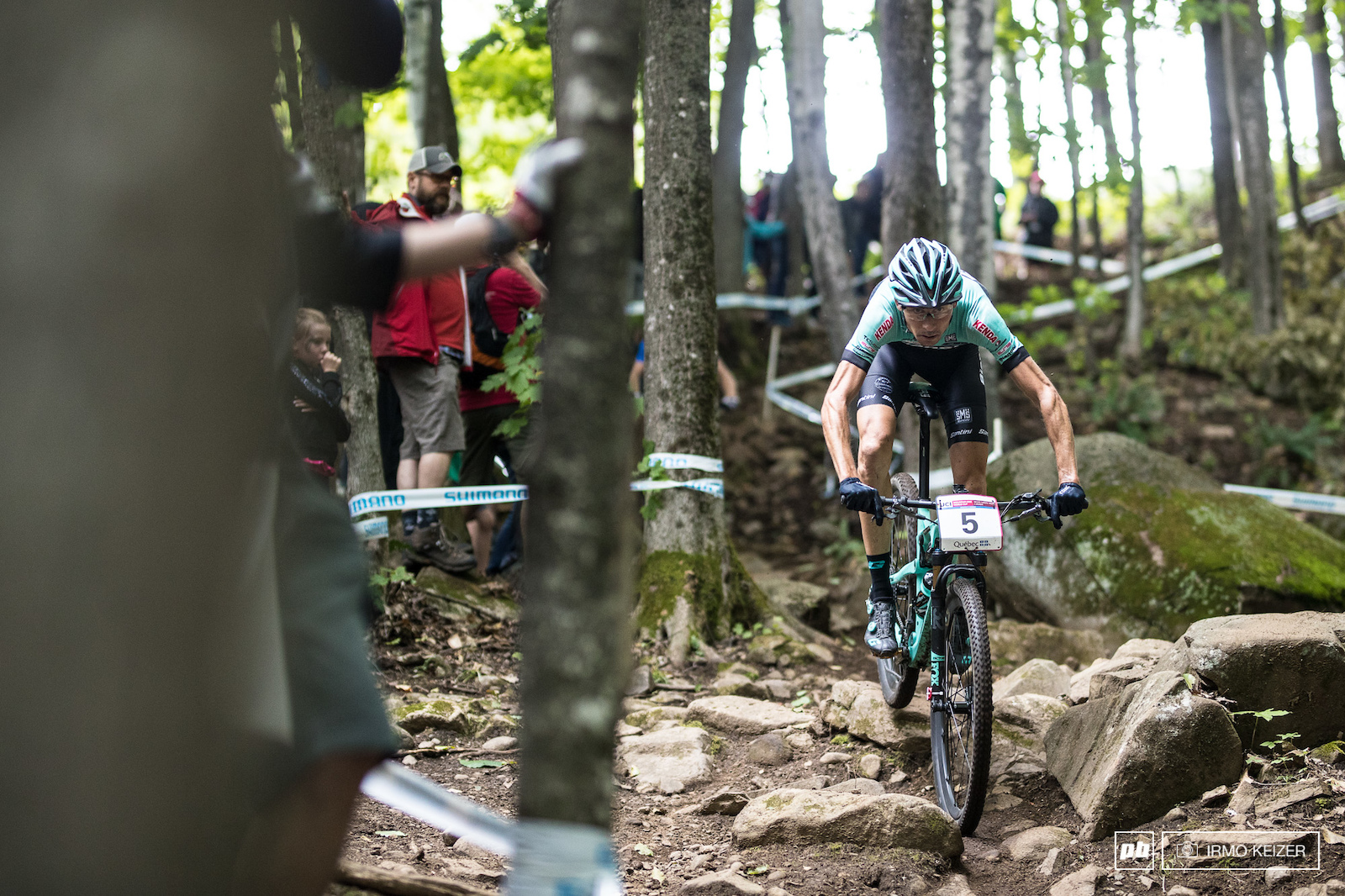 Stephane Tempier is in the form of his life. Although Schurter remained out of reach Tempier took second.