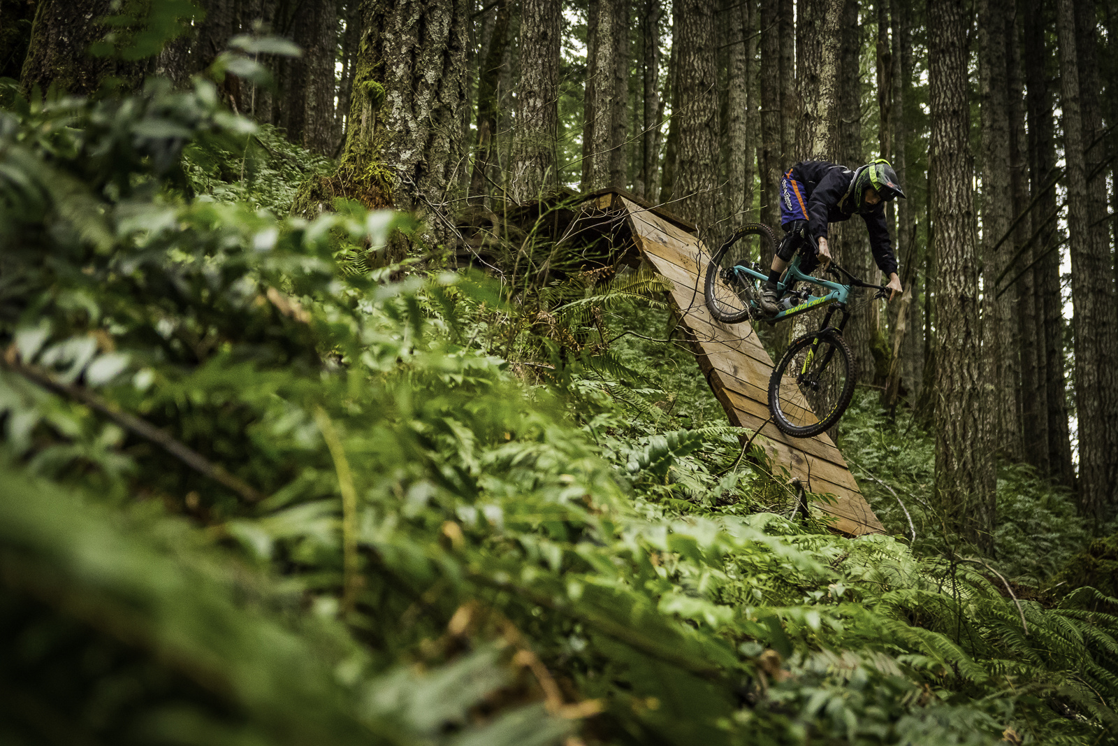 A day in the woods with Jesse Polay at Blackrock Mountain Bike Area.