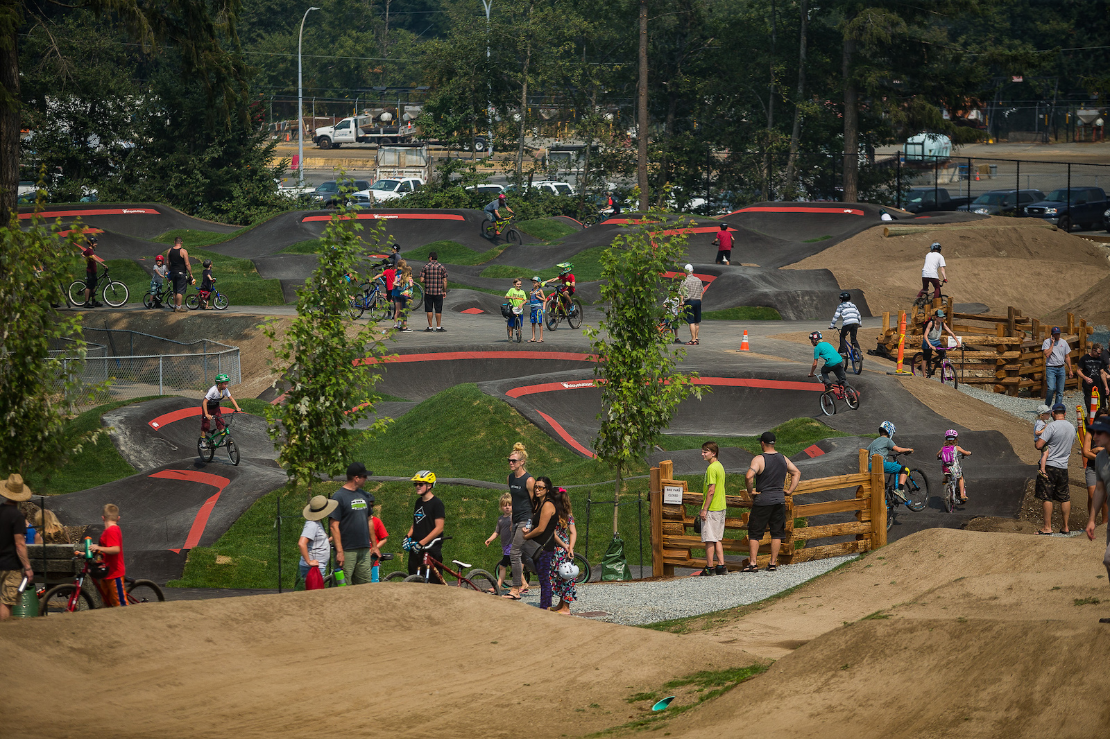 2500 square meters of pump track heaven.