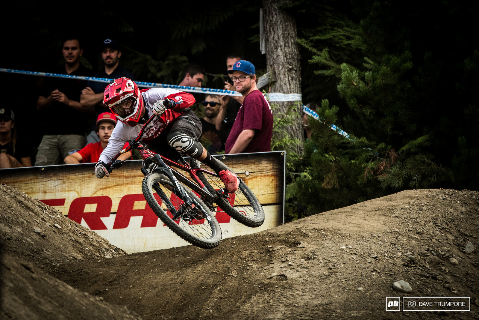 Adrien Loron took the win in Whistler.