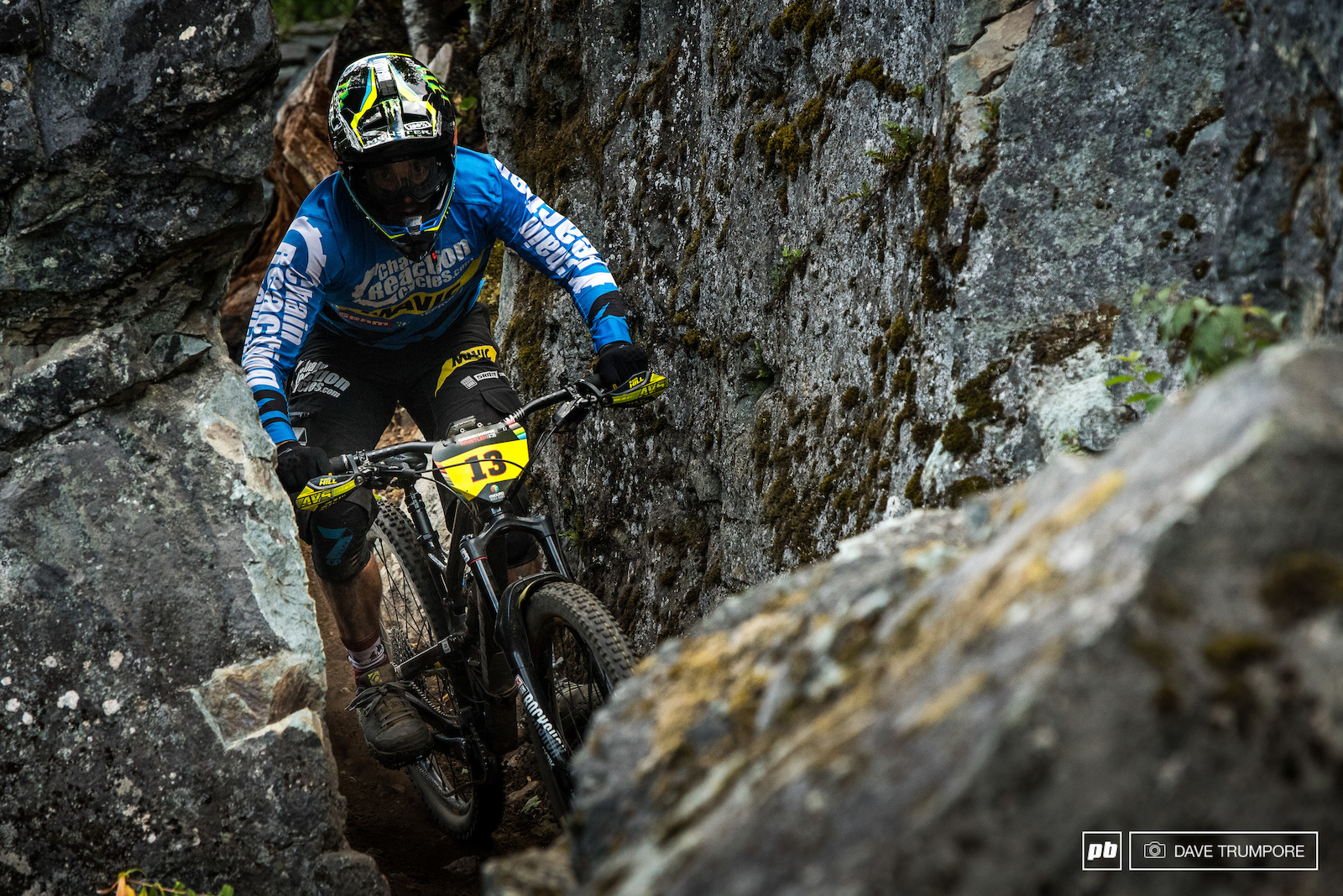Stage 4 would be where things would start to fall apart for Sam Hill as Jesse Melamed took over 10 seconds out of him.