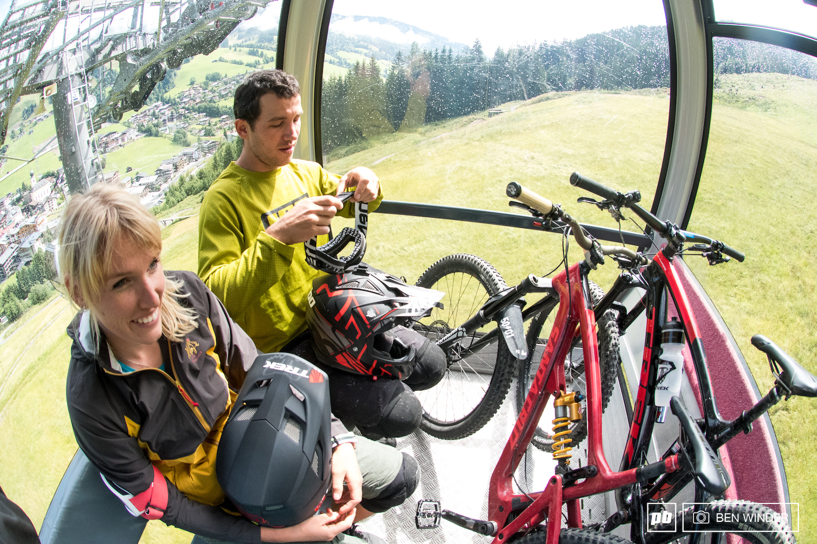 All the lifts are mountain bike friendly and all have a quick turnaround to the top of the mountains.