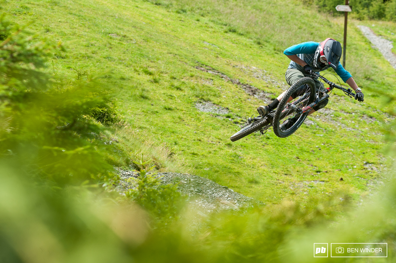 Kathi Kuypers is a dirt jumper at heart. She loves a bit of airtime.