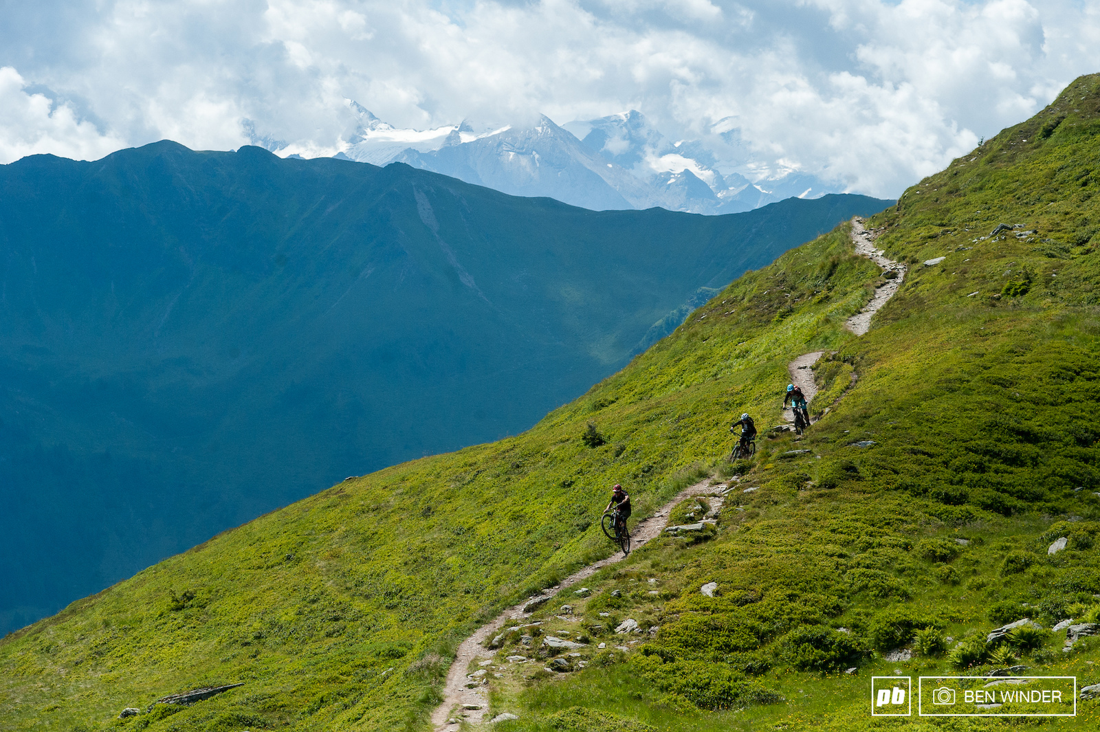 Once back in Saalbach we went looking for some singletracks.