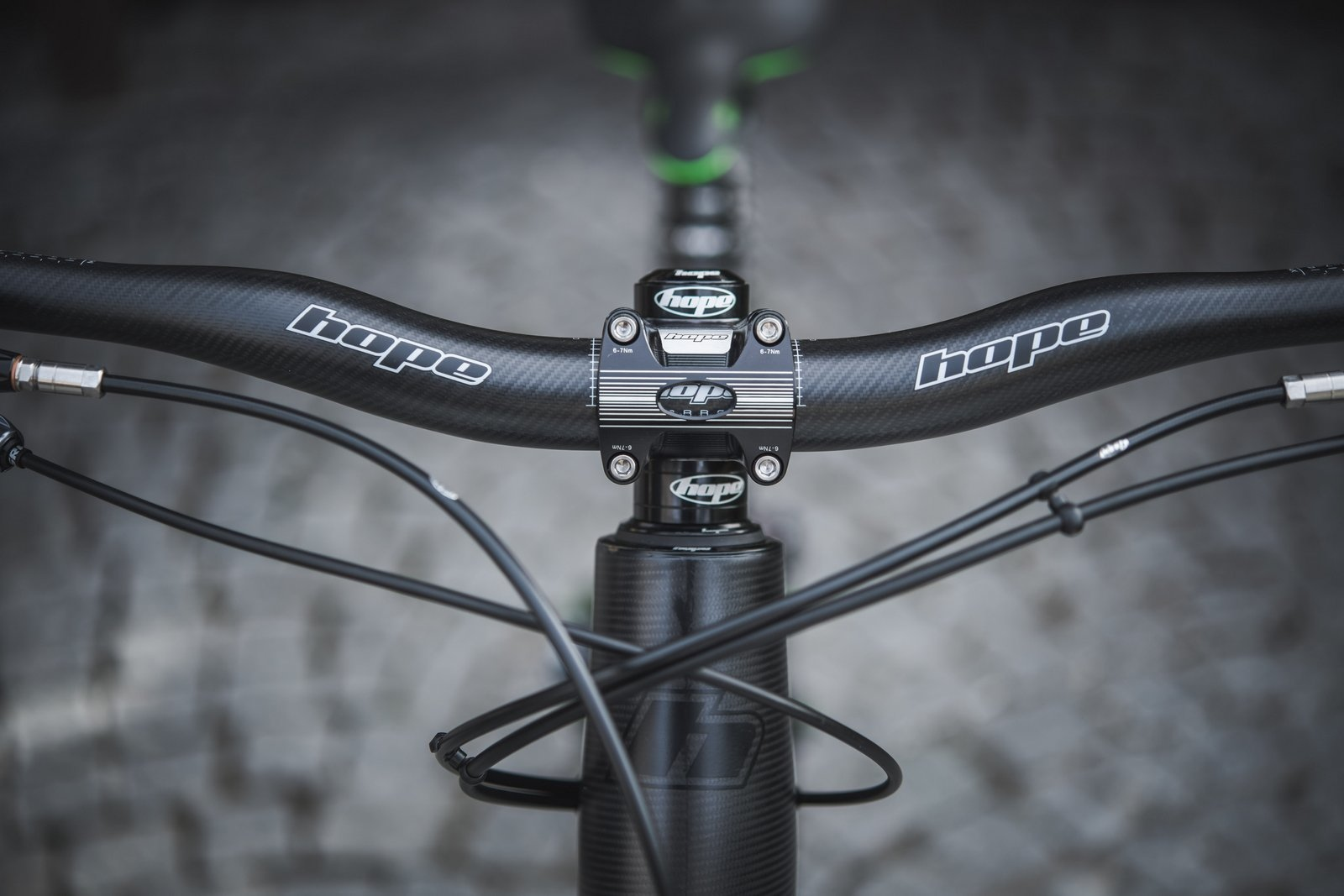 The Hope handlebar is the second carbon component to come out of the Barnoldswick factory.
