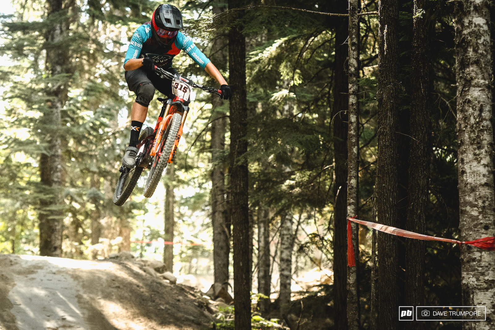 EWS specialist Caro Gehrig would take home 6th.