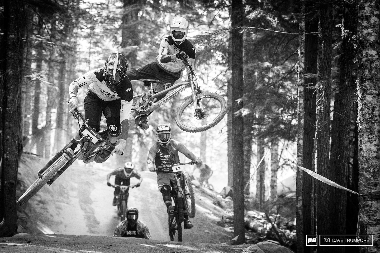 There used t be all kinds of party trains and antics during the Air DH but as Crankworx has focused moe on live broadcasts the past few years we are seeing less and less.