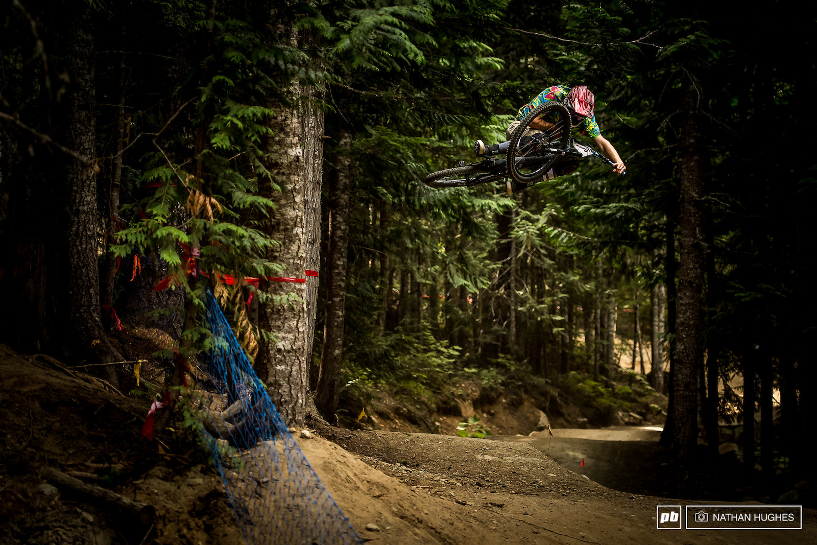Canadian Youth rider Parker Gibbons showing people twice his age how to ride.