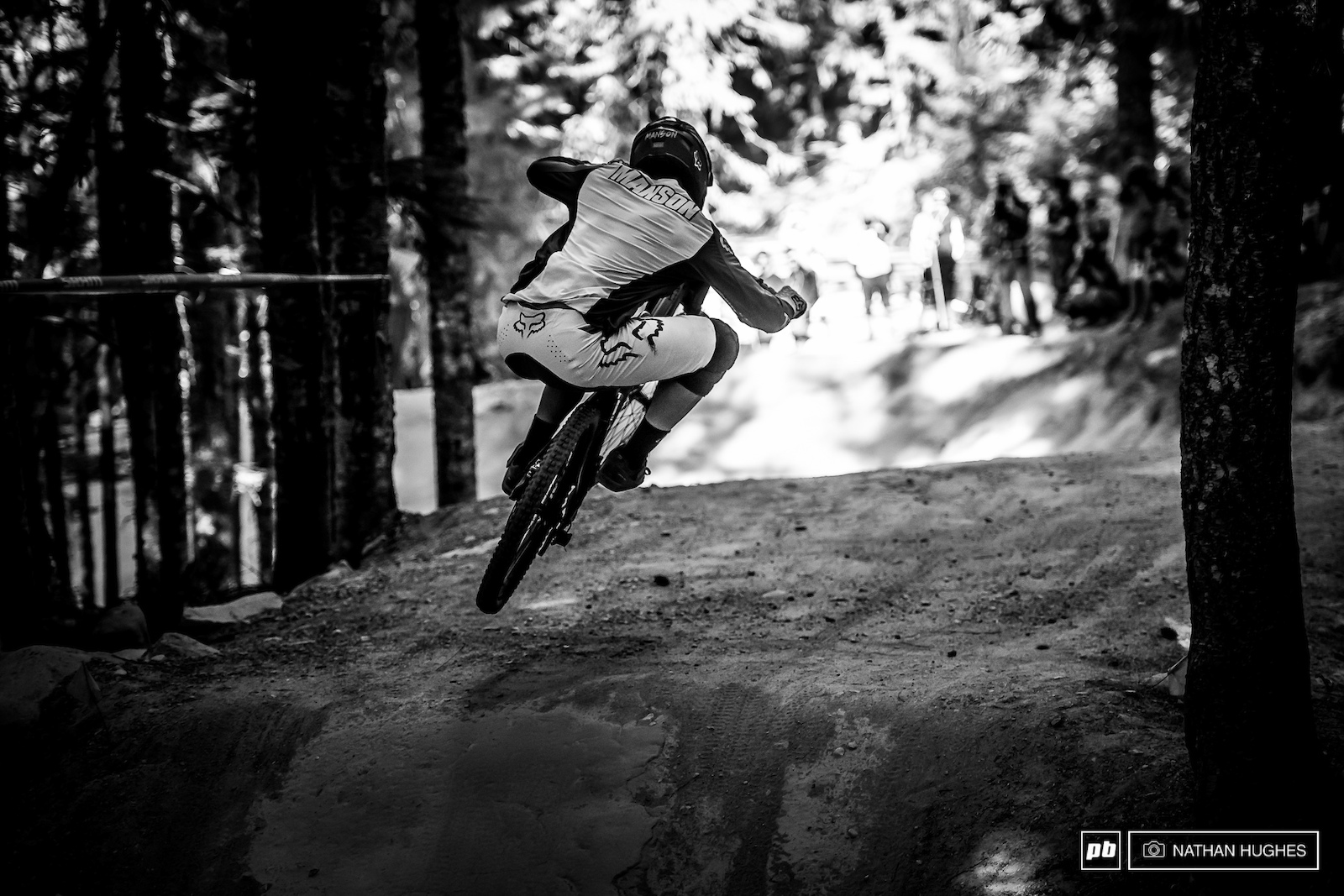 Winner of the unofficial downhill bike race was Magnus Manson hammering into 4th on a rip-roaring lap.