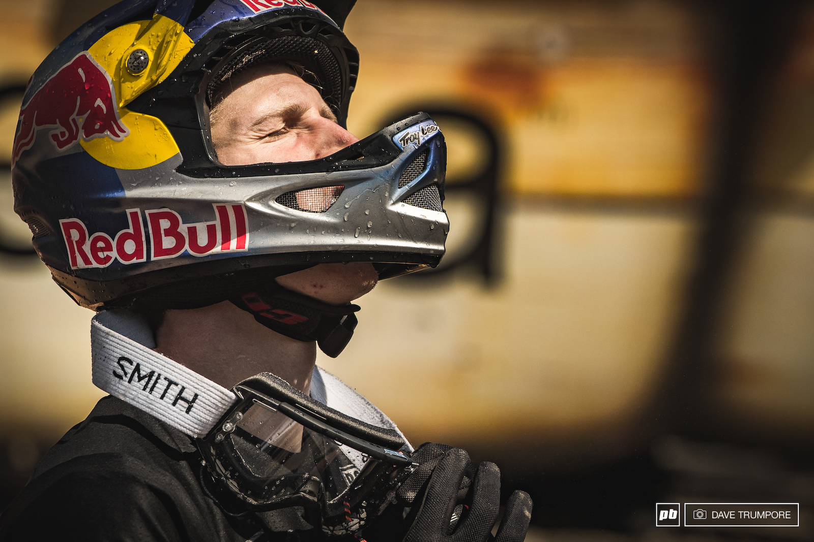 A sigh of relief from Brandon Semenuk as he wins Red Bull Joyride for the 5th time.