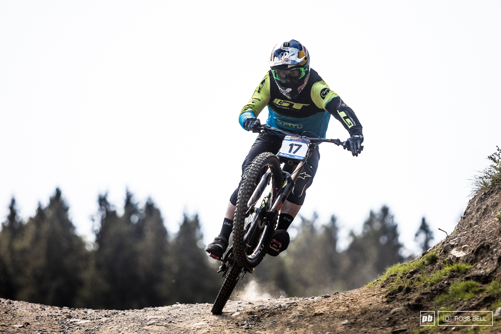 Brook Macdonald attacking the Val di Sole steeps is an eye opening experience.