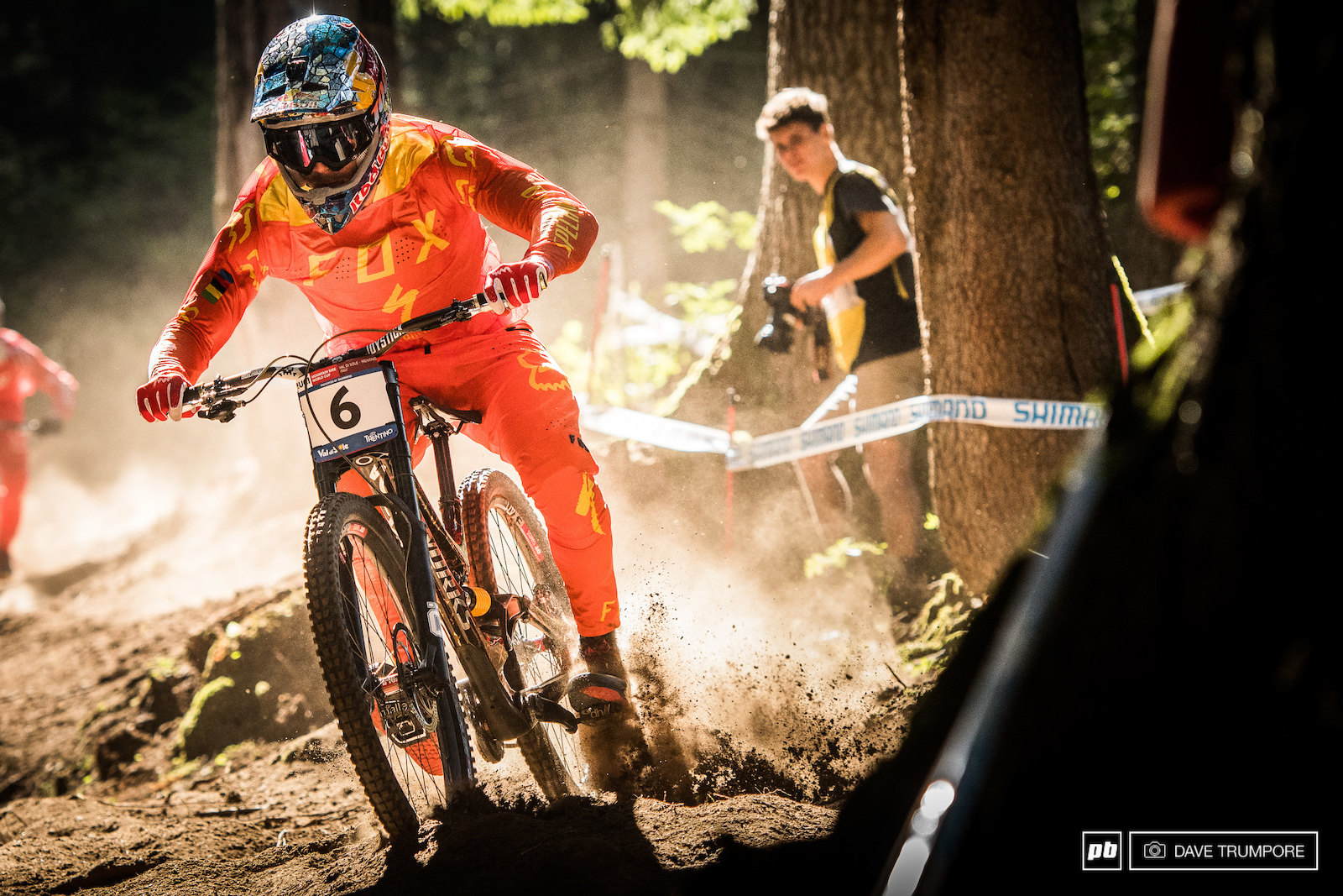 Loic needs to push hard if he wants to get into the top 5 in the overall on Saturday.
