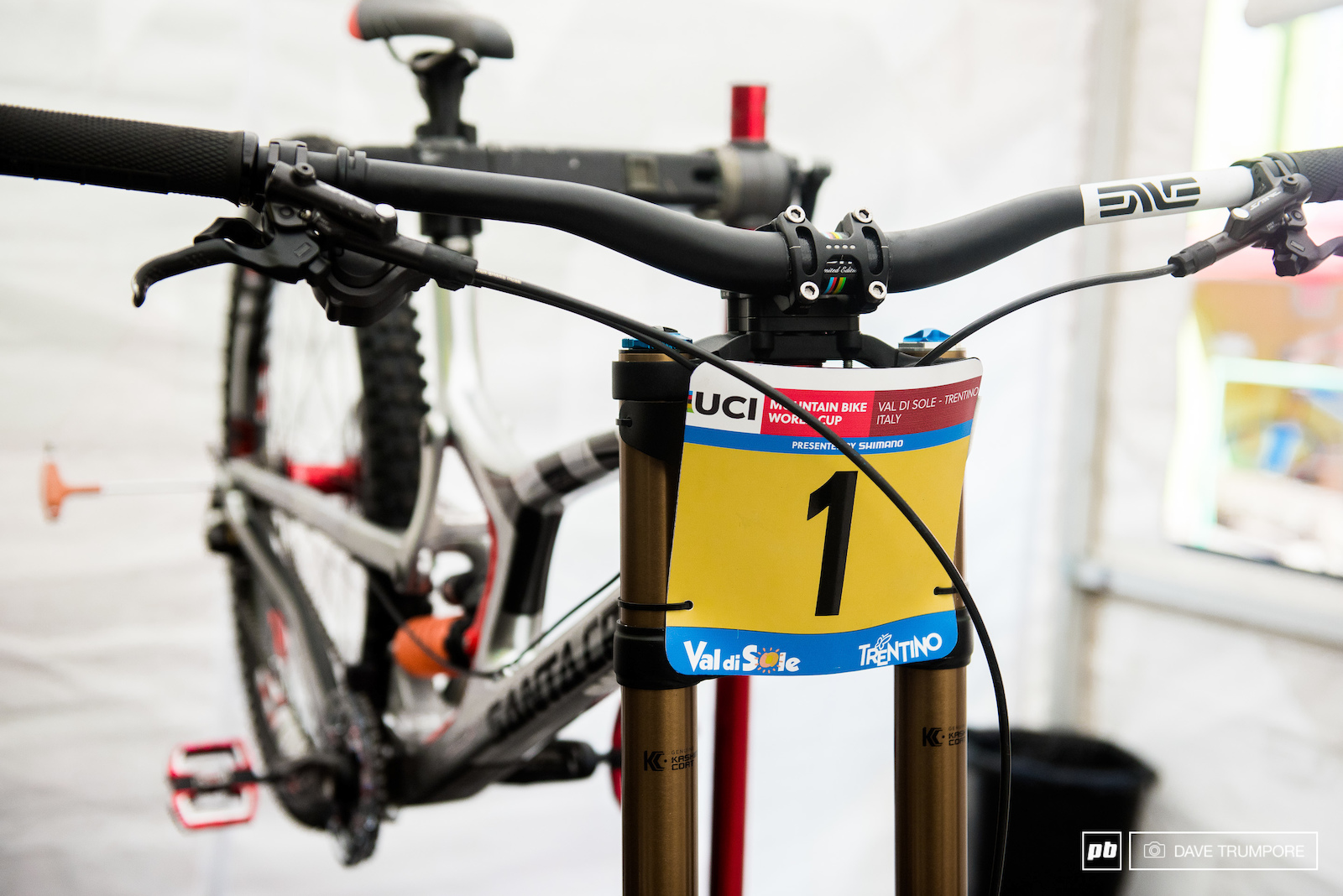 There are barely any points to spare if Greg Minnaar wants to leave Val di Sole with this number plate.