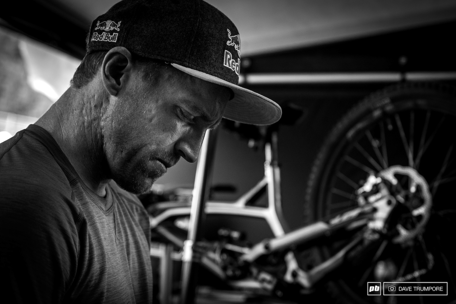 Cool and calm Aaron Gwinn is lazer focused on the task at hand. With now only 7 points separating himself and Greg Minnaar it is going to be as much a battle of nerves as skill in tomorrow s final.