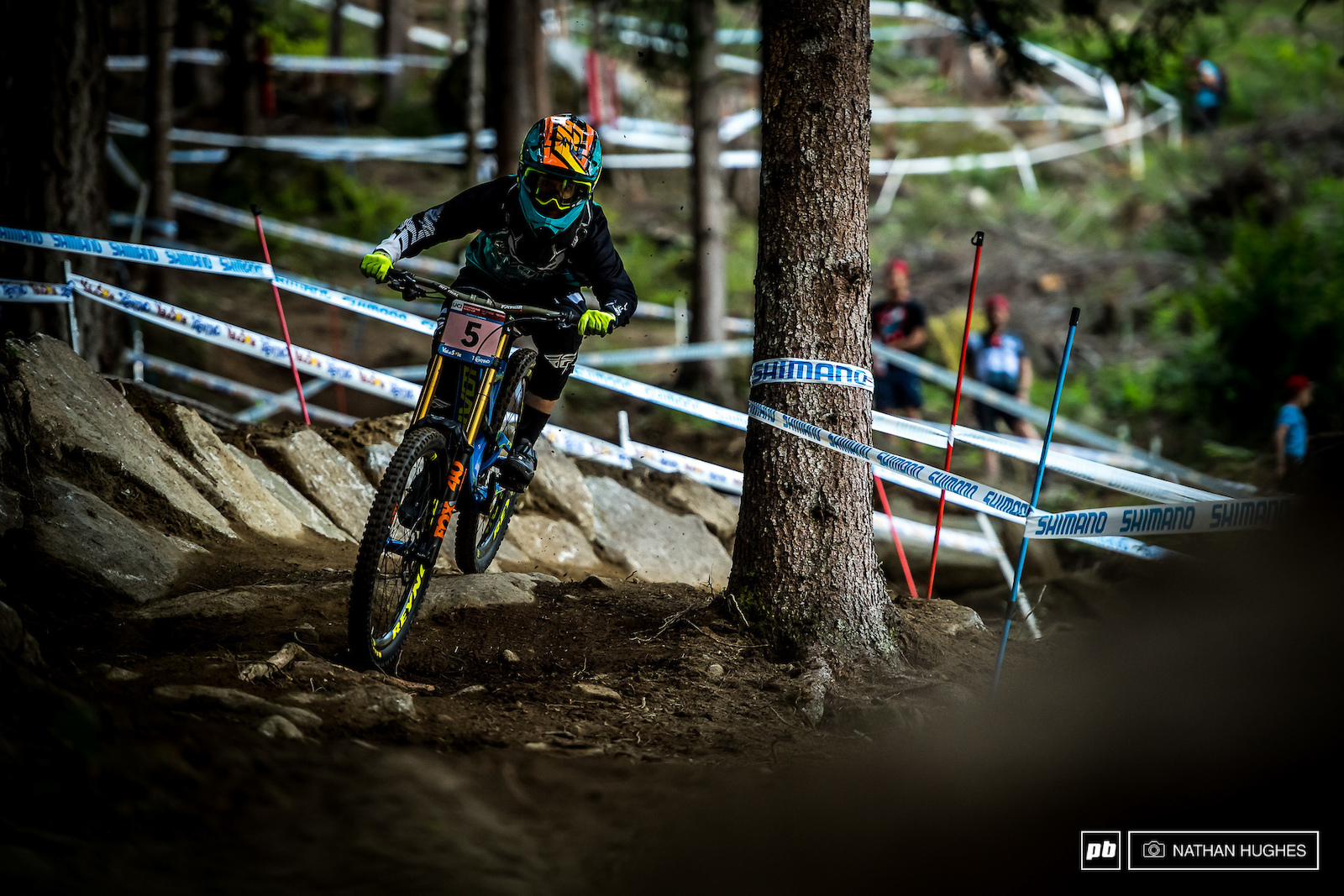 A crash for Emilie Siegenthaler put her way back but expect her to come back strong for finals and claim her place on the overall podium.