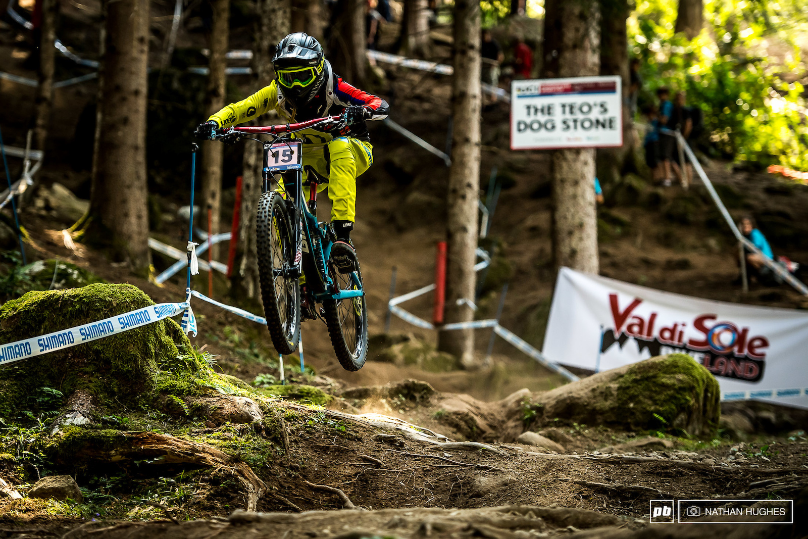 Monika Hrastnik doing Slovenia proud and sending it into a podium position. Can she hold it down again when the pressure s on