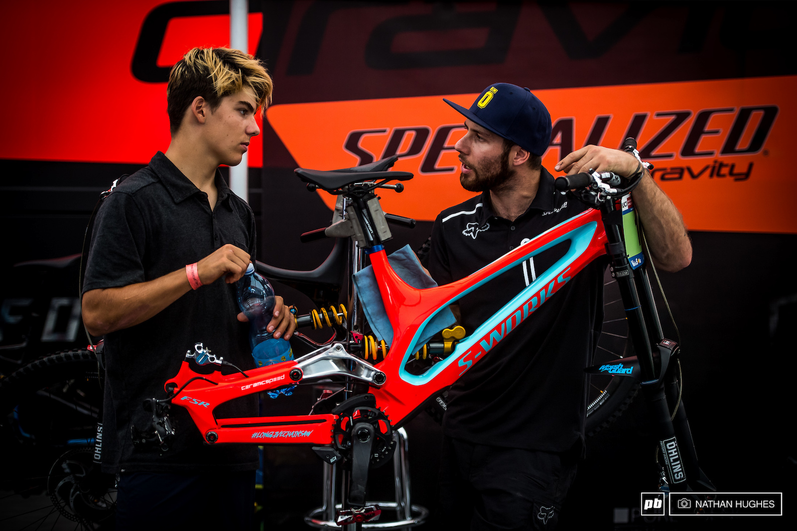 Finn Iles and Kevin Joly talk about the sticking points up on the hill.