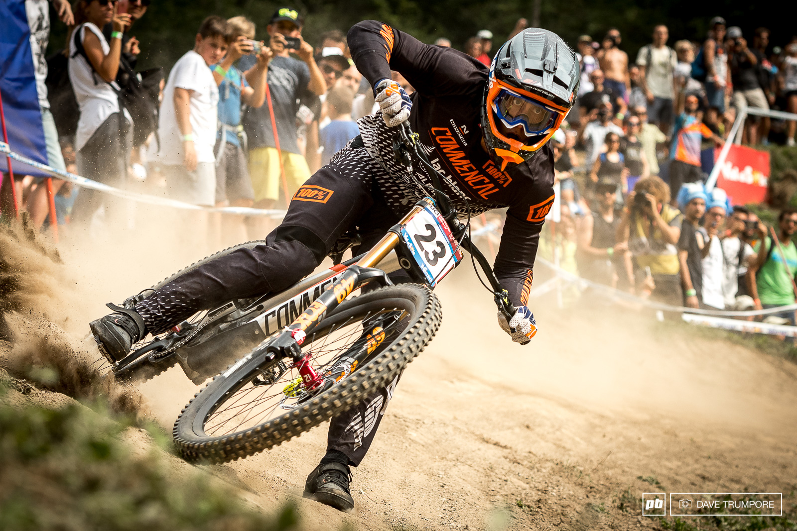 Foot out flat out and on a lose and aggressive run Amaury Pierron took home his best WC result ever with a 2nd place.