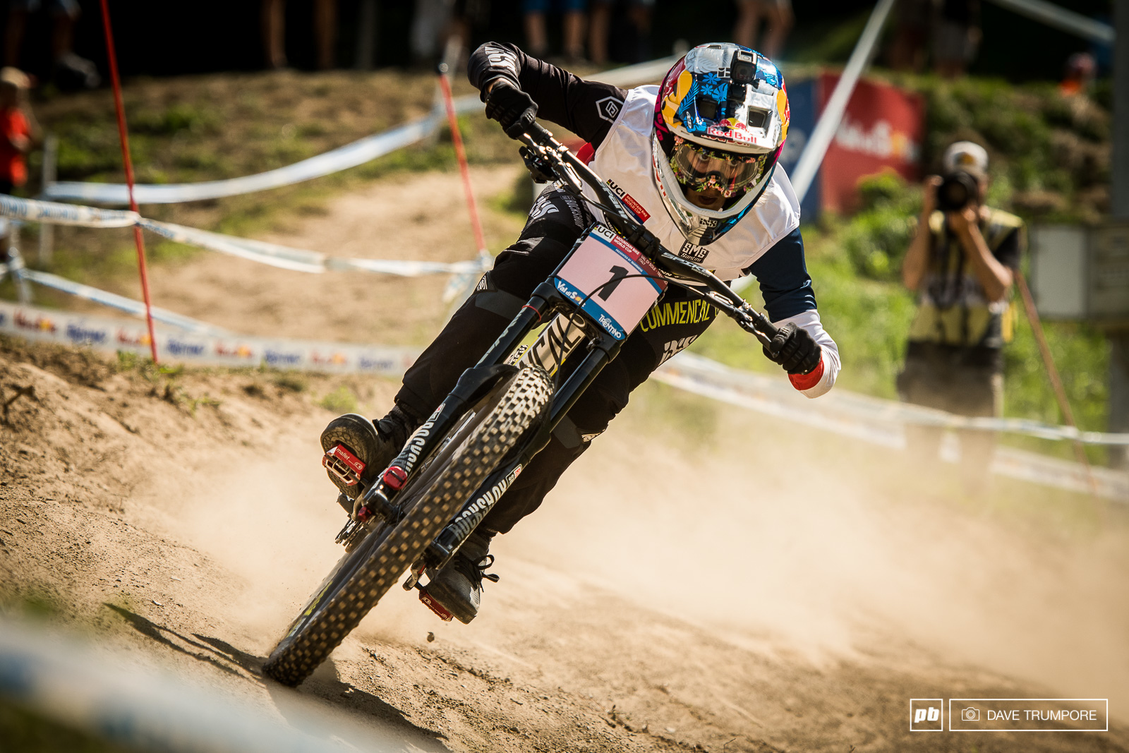 Myriam Nicole may have felt the nerves a bit today but she dod what needed to be done and is the 2017 World Cup Champion.