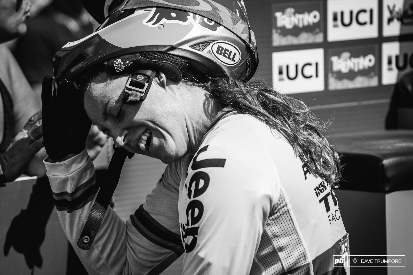 Rachel Atherton must surely be glad to have the season over with. Just World Champs to go and she can begin to focus on getting healthy again.