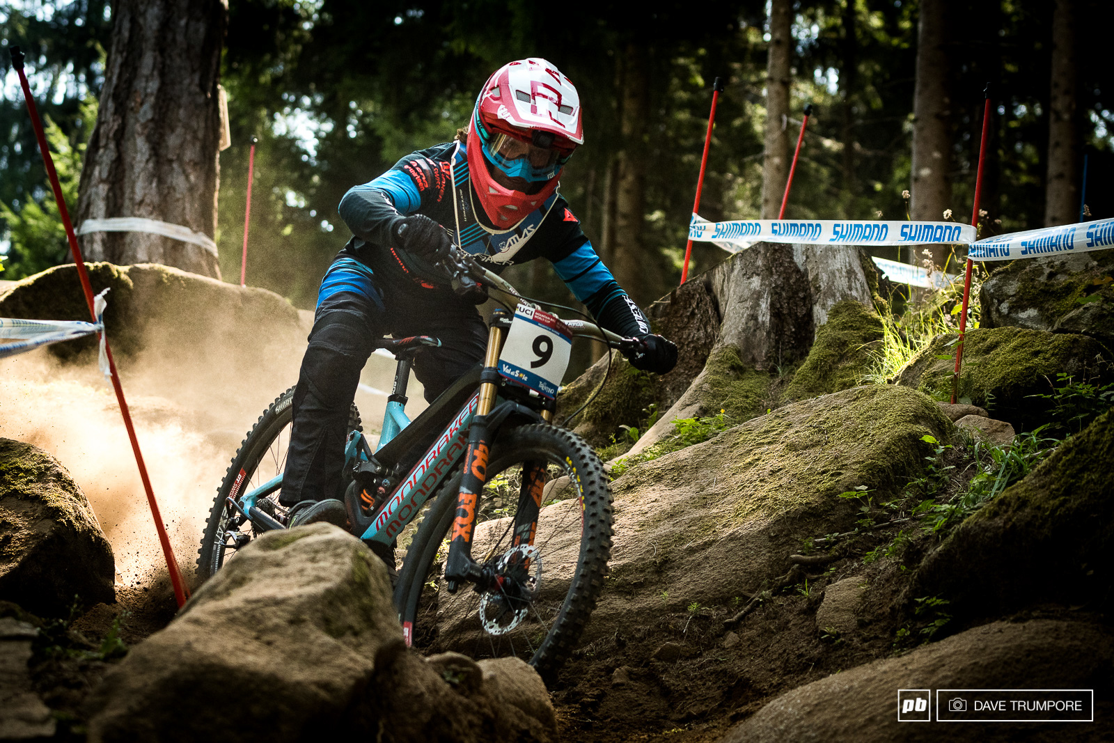 Laurie Greenland has always done well here in Val di Sole and would finish 4 seconds back and just one spot off the podium.