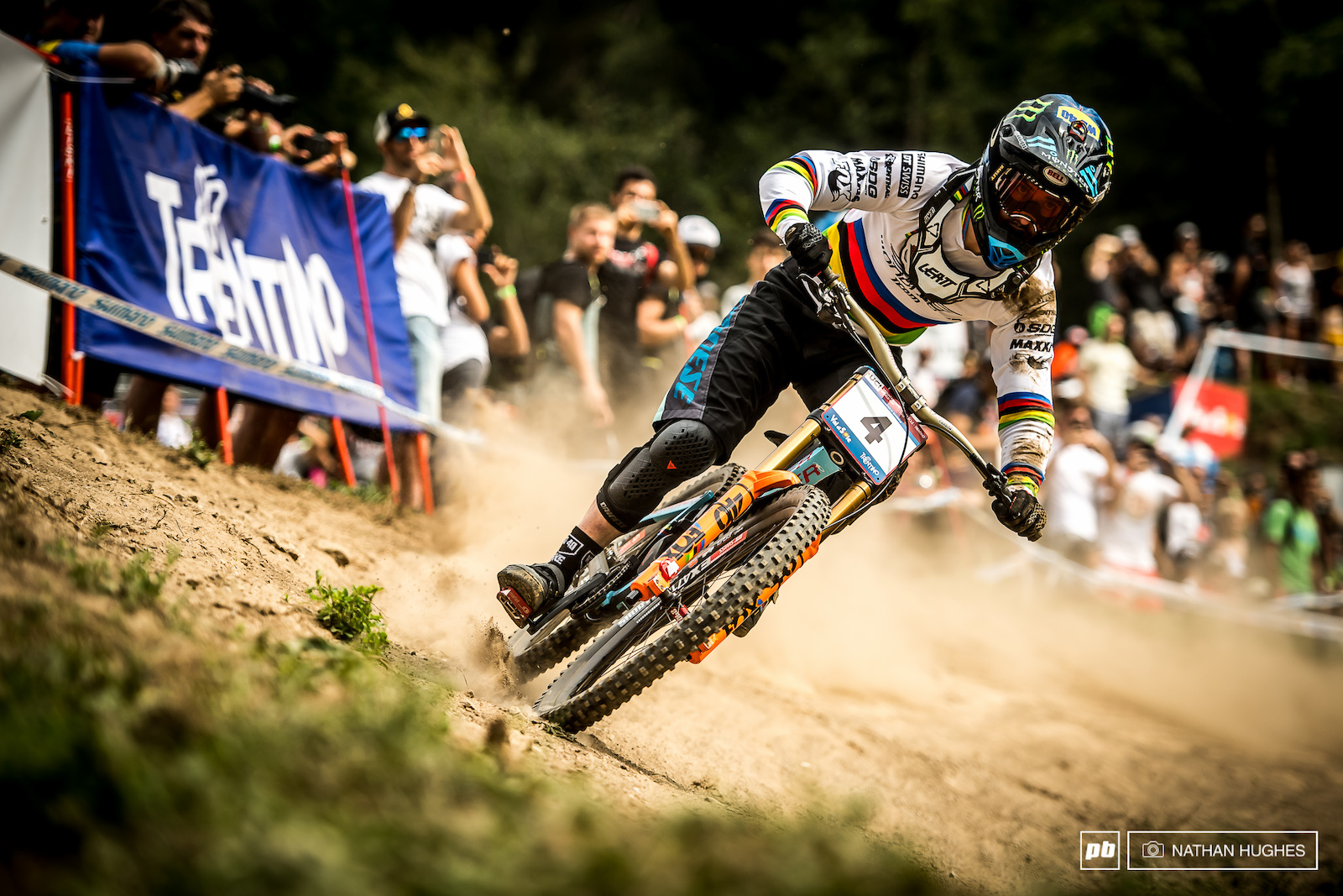 2017 Val Di Sole was nothing like 2016 Val Di Sole. Just ask Danny Hart.