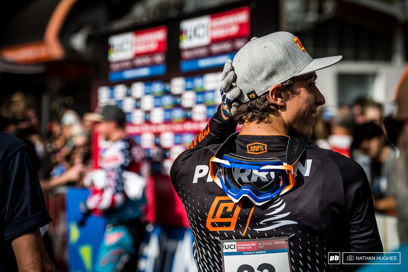 Pierron struggling to catch up with his accomplishments returning to the podium for only the second time in his career.