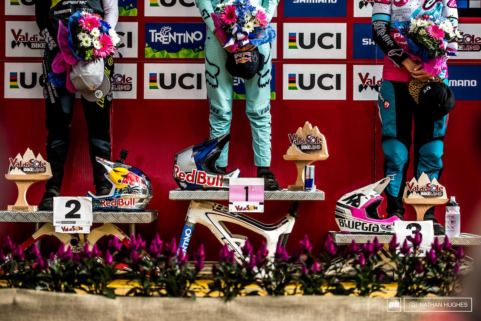 Women s podium.