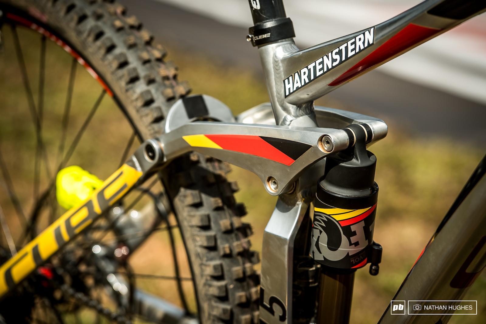 Max Hartenstern s Cube 29er.